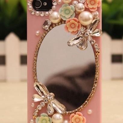 Sparkly Mirror flowers Hard Back Mobile phone Case Cover Rhinestone Case Cover for iphone 6s case,iphone 6s plus case,iphone 6c case,iphone 5case,iphone5scase,iphone7 case,iphone 6 case,iphone 6plus case,samsung galaxy s4 case,samsung galaxy s5case,samsung galaxy s6 case,samsung galaxy s6 edge case,samsung galaxy note8.0 case,samsung galaxy note4 case,samsung galaxy note5 case.